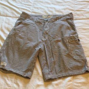 EUC Vintage Brand Seersucker Shorts